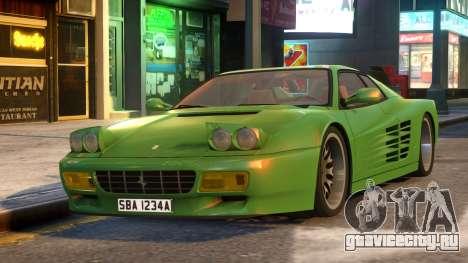 Ferrari TestaRossa 512 для GTA 4