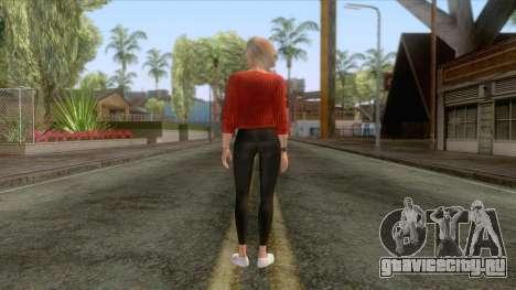 Sims 4 - Lana Casual Skin v2 для GTA San Andreas