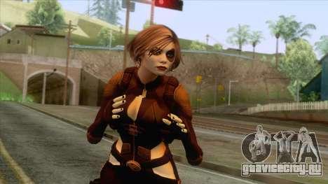 Deadpool - Domino Brown для GTA San Andreas