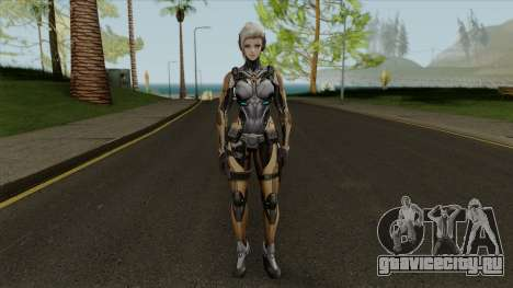Reyko From Ghost in the Shell First Assault для GTA San Andreas