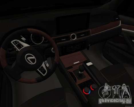 Lexus LX570 для GTA San Andreas вид сзади