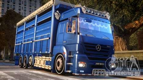 Mercedes-Benz AXOR 3240 для GTA 4