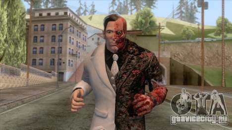Batman Arkham City - Two-Face Skin для GTA San Andreas