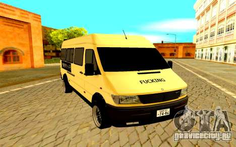 Mercedes-Benz Sprinter JDM для GTA San Andreas