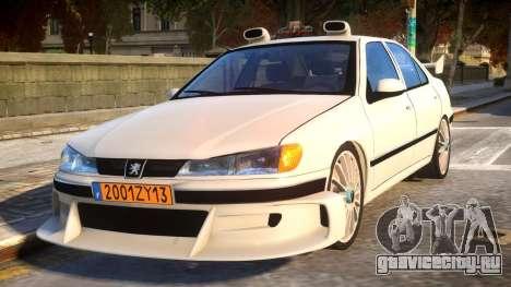 Peugeot 406 Taxi 2 для GTA 4