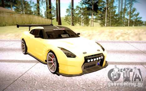 Nissan GT-R BenSopra для GTA San Andreas