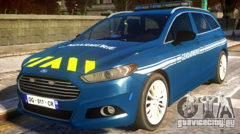 Ford CMax 2013 Gendarmerie Nationale для GTA 4
