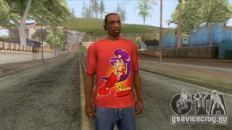 Shantae T-Shirt 3 для GTA San Andreas