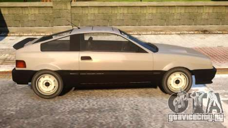 Blista Compact to Honda CRX для GTA 4