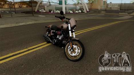 Harley-Davidson FXDLS Dyna Low Rider S 2016 для GTA San Andreas