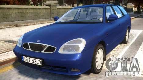 Daewoo Nubira II Wagon CDX PL 2000 для GTA 4