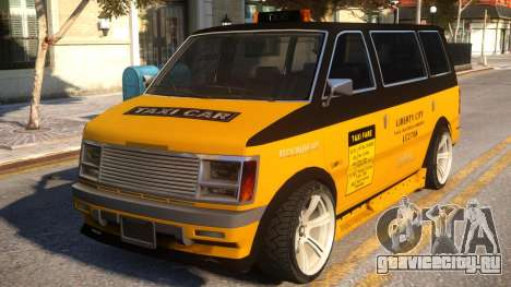 Moonbeam Taxi LC 2708 для GTA 4
