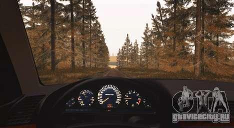 Mercedes-Benz S600 W140 для GTA San Andreas вид сзади