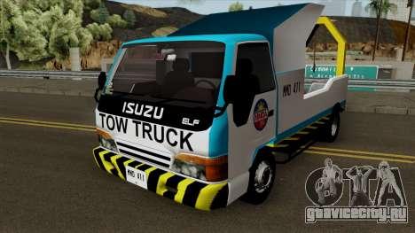 Isuzu ELF Philippine Government Tow Truck для GTA San Andreas