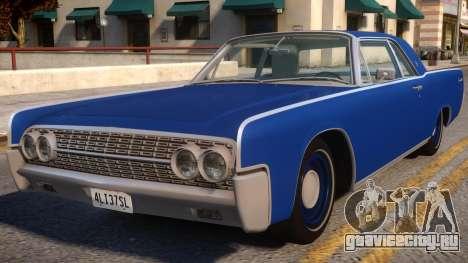 1962 Lincoln Continental для GTA 4