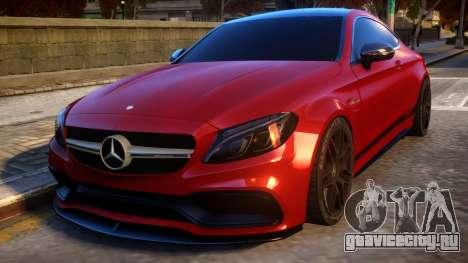 Mercedes-Benz AMG C63S Coupe для GTA 4