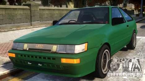 1985 Toyota AE86 Levin V2 для GTA 4