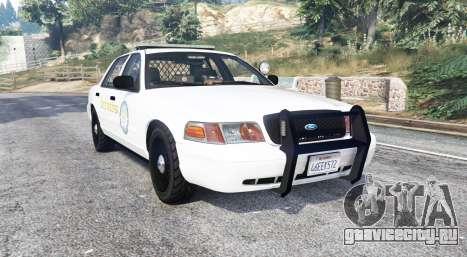 Ford Crown Victoria State Trooper CVPI [replace] для GTA 5