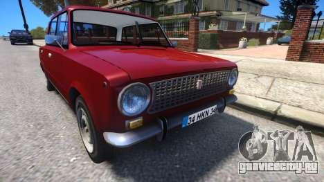 Lada 2101 Murat 124 для GTA 4