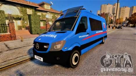 Mercedes Sprinter Jandarma для GTA 4