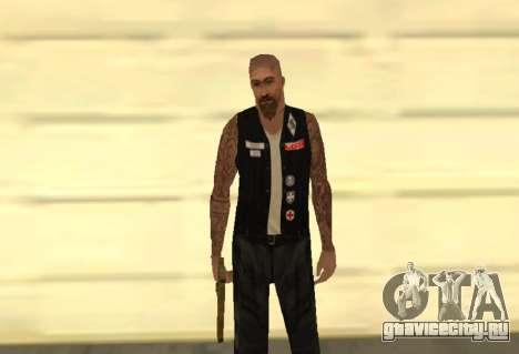 Little Demon MFR biker gang для GTA San Andreas
