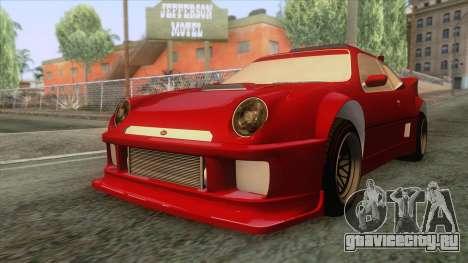 GTA 5 - Vapid GB200 для GTA San Andreas