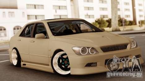 Toyota Altezza серебристый для GTA San Andreas