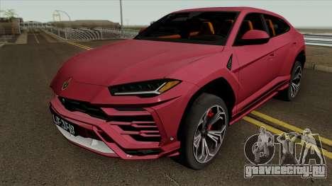 Lamborghini Urus 2018 для GTA San Andreas