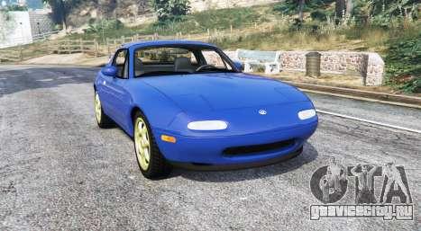 Mazda MX-5 (NA) 1997 v1.1 [replace] для GTA 5