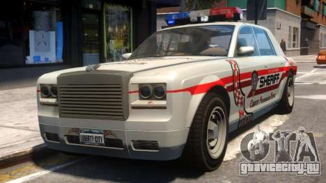 Sheriff Rolls-Royce для GTA 4
