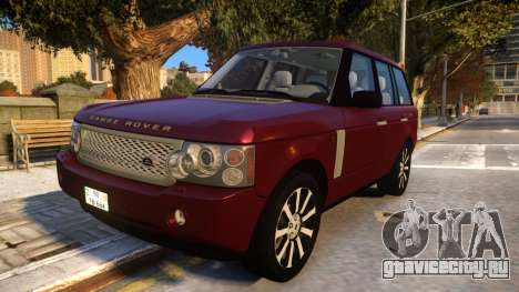Land Rover Range Rover 2009 Baku Style для GTA 4