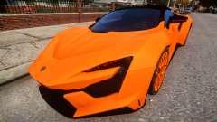 2017 W Motors Fenyr Supersports для GTA 4