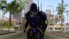 Kerberos Panzer Cop Blue Skin для GTA San Andreas