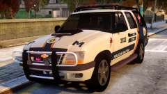 Chevrolet Blazer 2010 - GTOP PMDF для GTA 4