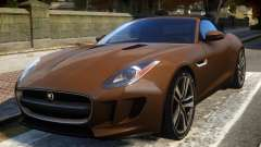 2014 Jaguar F-Type (EPM) для GTA 4