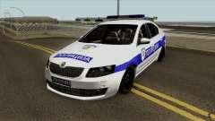 Skoda Octavia Mk3 Policija для GTA San Andreas