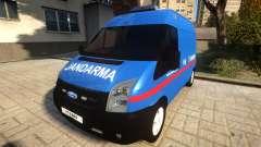Ford Transit Jandarma для GTA 4