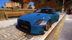 Liberty Walk Nissan GT-R R35 для GTA 4