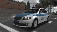 Skoda Octavia Mk3 Kazakh Police для GTA San Andreas