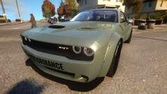Dodge Challenger Liberty Walk 15 для GTA 4