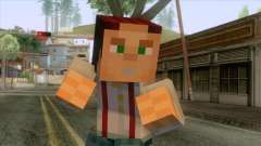 Jesse Minecraft Story Skin для GTA San Andreas