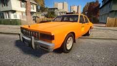 Declasse Classic Taxicar для GTA 4