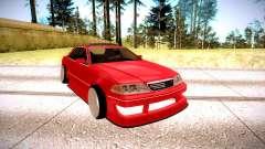 Toyota Mark 2 красный для GTA San Andreas