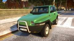 1999 Daewoo Korando TD для GTA 4