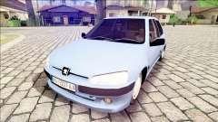 Peugeot 106 Stock для GTA San Andreas