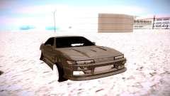 Nissan Silvia S13 серый для GTA San Andreas