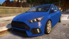 2017 Focus RS STOCK EDIT для GTA 4