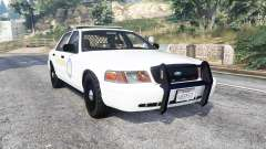 Ford Crown Victoria State Trooper CVPI [replace] для GTA 5