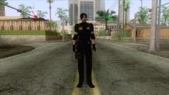 Leon Intel Cop Skin 1 для GTA San Andreas