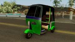 Indian Tuk Tuk Rickshaw (Indian Auto) для GTA San Andreas